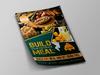 11 restaurant flyer.  thumbnail