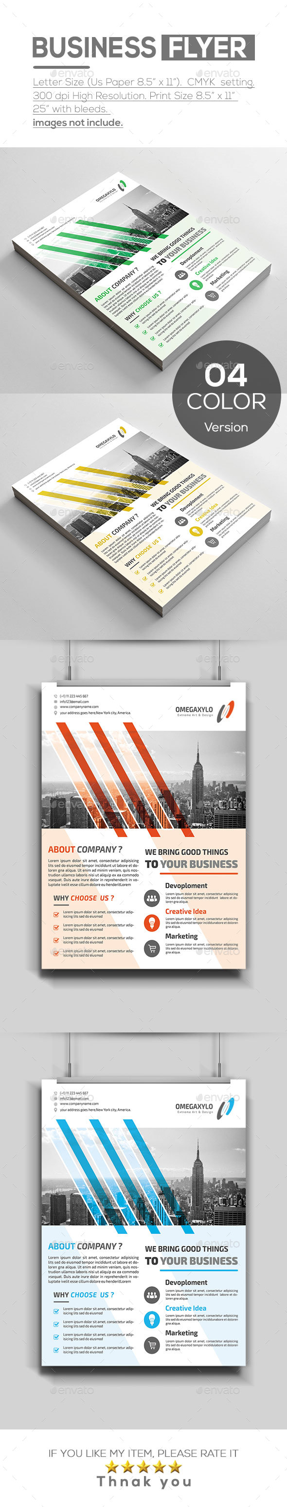 Busien Flyer - Corporate Flyers