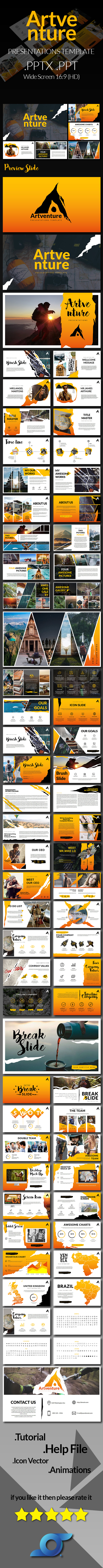Artventure Presentation Templates - Abstract PowerPoint Templates