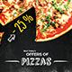 Pizza Home Food Menu Flyer - GraphicRiver Item for Sale