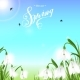 Spring Background with Snowdrop Flowers - GraphicRiver Item for Sale