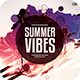 Summer Vibes CD Cover Artwork - GraphicRiver Item for Sale