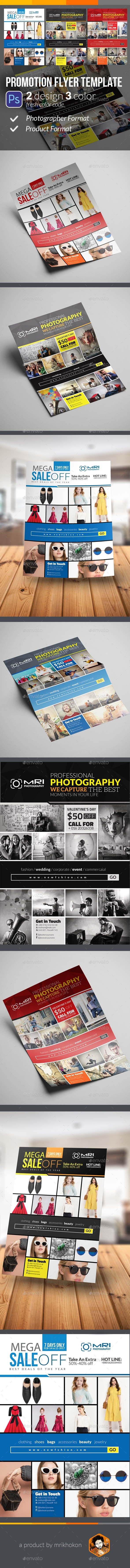 Promotion Flyer Template - Flyers Print Templates