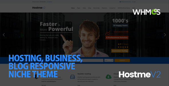20 Best Hosting WordPress Themes 2019 21