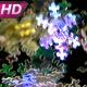 Festive Neon Snowfall - VideoHive Item for Sale