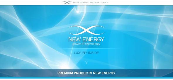 Newenrgy Luxury | Landing HTML TEMPLATE