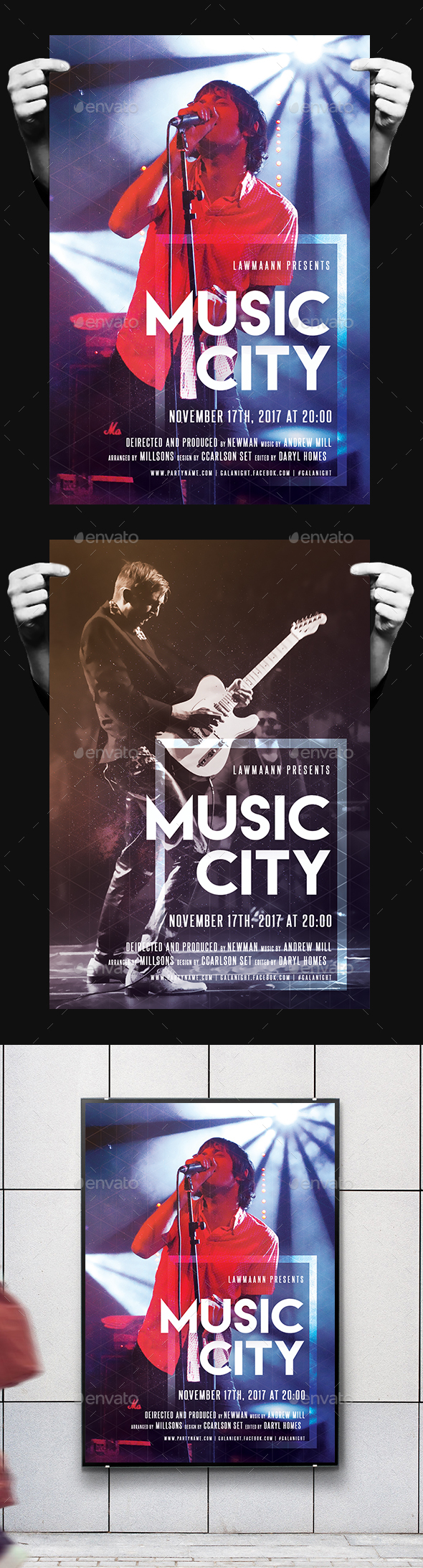 Music City Party Flyer - Clubs & Parties Events
