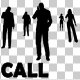 People Talking On Phone Silhouettes - VideoHive Item for Sale