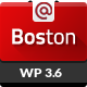 Boston - Corporate Parallax WordPress Theme - ThemeForest Item for Sale