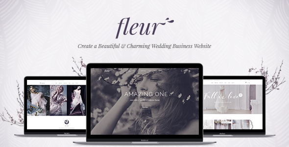 Fleur - A Theme for Weddings, Celebrations, and Wedding Businesses - Wedding WordPress