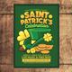 Saint Patrick Celebration Flyer
