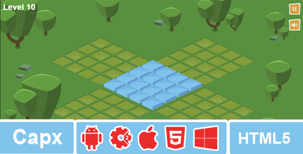 Isometric Puzzle - Construct 2 Puzzle Game - CodeCanyon Item for Sale