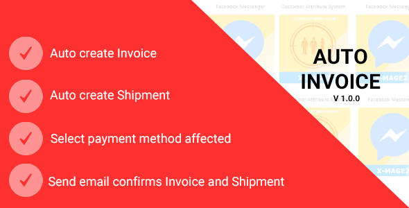 Magento 2 Auto Invoice - CodeCanyon Item for Sale