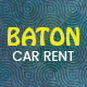 Baton | Car Rental HTML 5 Animated Google Banner