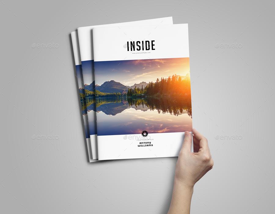 Simple portfolio photobook template by adekfotografia graphicriver simple portfolio photobook template altavistaventures Images