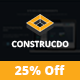 Construcdo - Construction, Building & Renovation Html5 Template Nulled