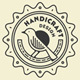 Handicraft Thin Line Badges and Logos - GraphicRiver Item for Sale