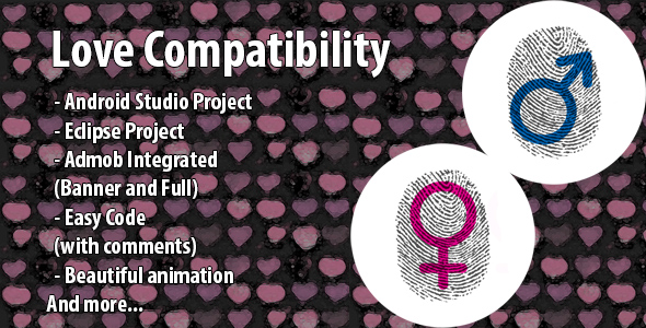 Finger Love Compatibility Prank + Admob (Android Studio & Eclipse) - CodeCanyon Item for Sale