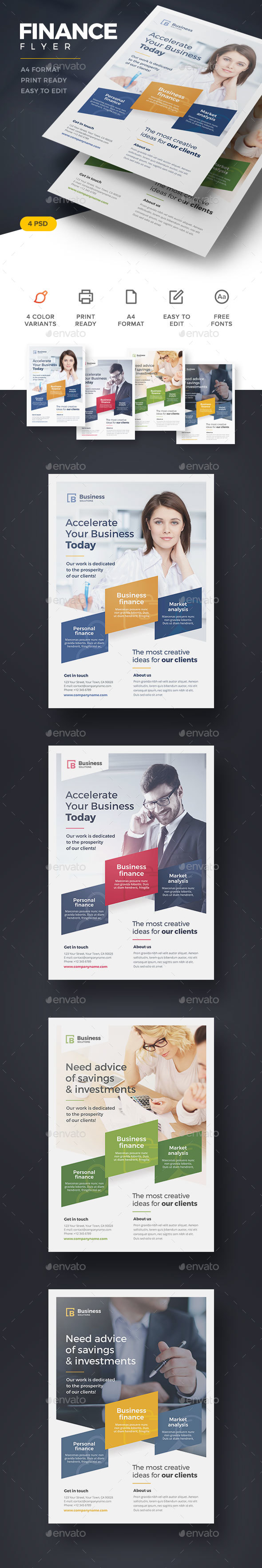 Finance Flyer - Corporate Flyers