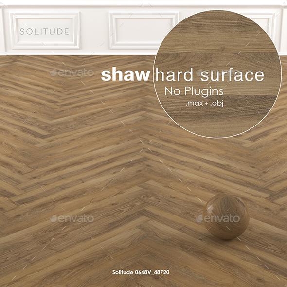 Shaw Hard Surface Solitude Vinyl Parquet - 3DOcean Item for Sale