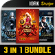 Club Flyers Bundle Vol.6 - GraphicRiver Item for Sale