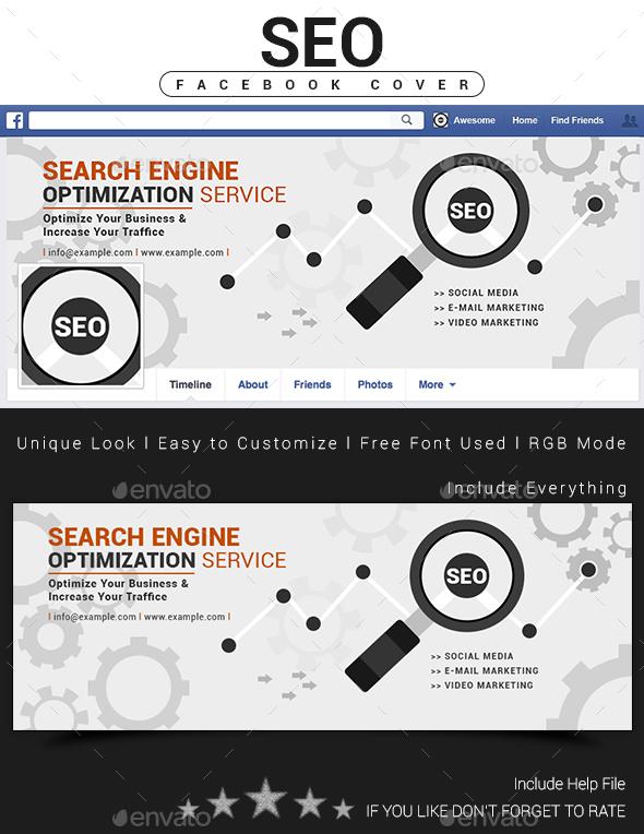 SEO Facebook Cover Design - Facebook Timeline Covers Social Media