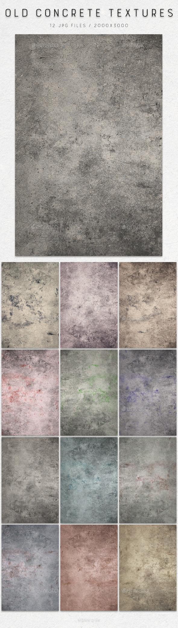 Old Concrete | Textures - Concrete Textures