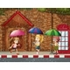 Three Kids in the Rain - GraphicRiver Item for Sale