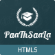 Paathshaala Education Website template - ThemeForest Item for Sale