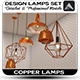 Design Lamps Set - 3DOcean Item for Sale
