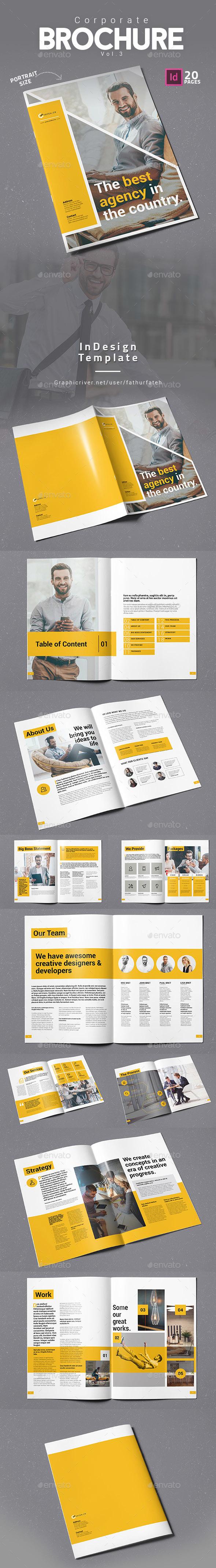 Corporate Brochure Vol.3 - Corporate Brochures