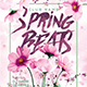 Spring Beats Party Flyer - GraphicRiver Item for Sale