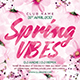 Spring Vibes Party Flyer - GraphicRiver Item for Sale