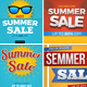 Summer Sale Banner Set 1 - GraphicRiver Item for Sale