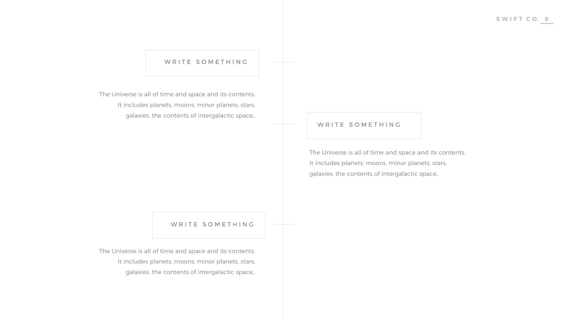 Swift minimal powerpoint template builder by louistwelve design swift minimal powerpoint template builder alramifo Gallery