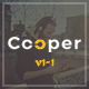 Cooper - Creative  Responsive Personal  Portfolio - ThemeForest Item for Sale