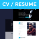 Resume / CV / vCard - ThemeForest Item for Sale
