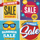 Summer Sale Flyer Set - GraphicRiver Item for Sale
