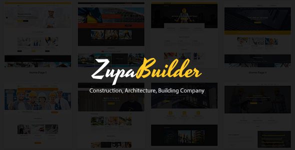 ZupaBuilder – Construction, Architecture, Building Company