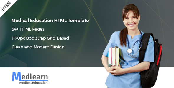 Medlearn - Medical Education HTML Template - Nonprofit Site Templates