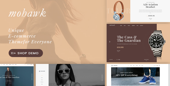 Mohawk - Multipurpose WooCommerce WordPress Theme - WooCommerce eCommerce