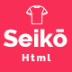 Seiko - eCommerce HTML Template Nulled