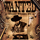 Wanted Western Party Flyer Template - GraphicRiver Item for Sale