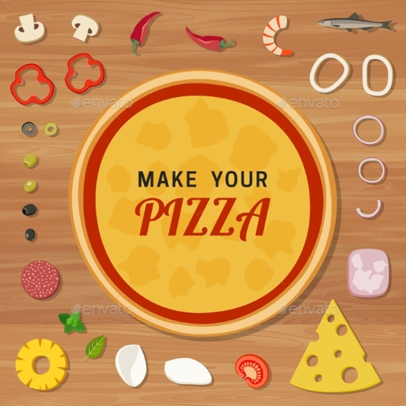 Pizza - Food Objects