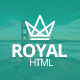 Royal - Responsive One Page Parallax Template Nulled