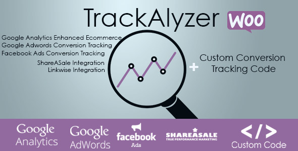 TrackAlyzer - Analytics & Custom Tracking Code for WooCommerce - CodeCanyon Item for Sale