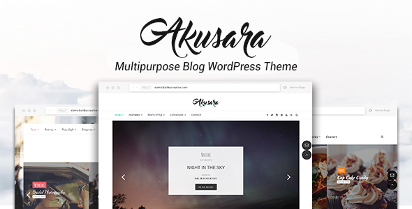 Akusara – Multipurpose Blog Theme