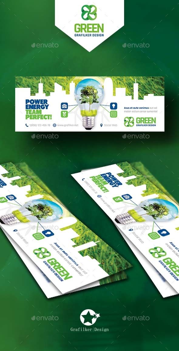 Green Energy Cover Templates - Facebook Timeline Covers Social Media