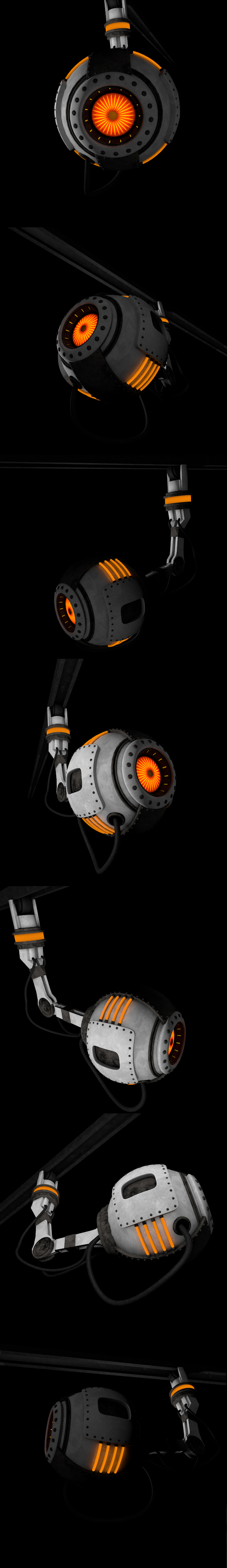 Wheatley (Portal) Full textures - 3DOcean Item for Sale