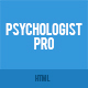 Psychologist Pro - Psychologist, Psychotherapist, Psychology, Counseling HTML Template Nulled